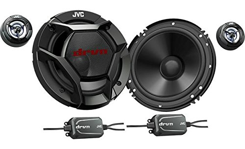"JVC CS-DR600C 6.5"" 2-Way Component Speakers"