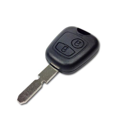 coque de clé télécommande pour plip Peugeot 406 806