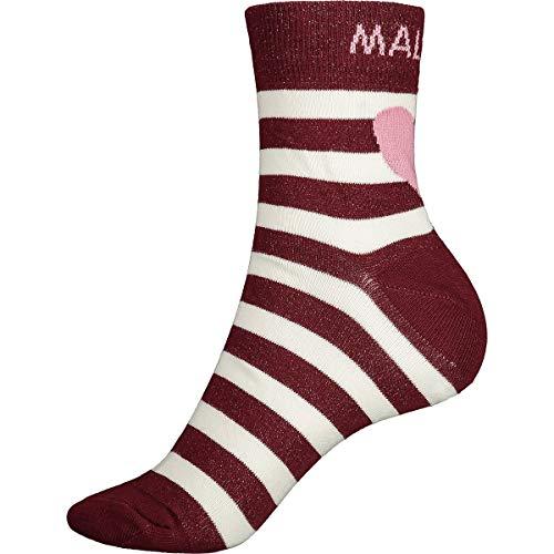 Maloja Liumam Unisex Erwachsene Socken S Roter Mönch