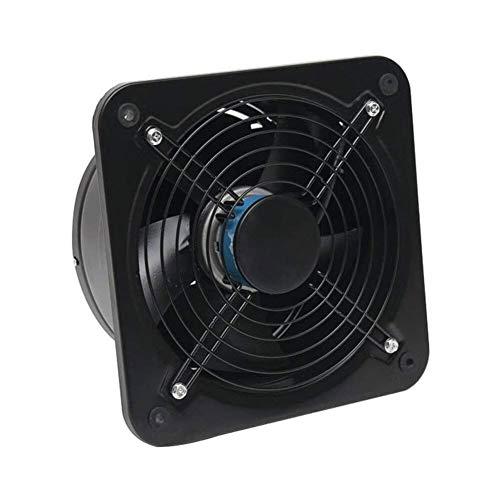 Ventilador extractor de baño Pared 10 pulgadas montado ventilador, baño extractor de humos de escape cocina, ventilador ultra silencioso de ventilación, neutral alta potencia comercial ventilador sopl