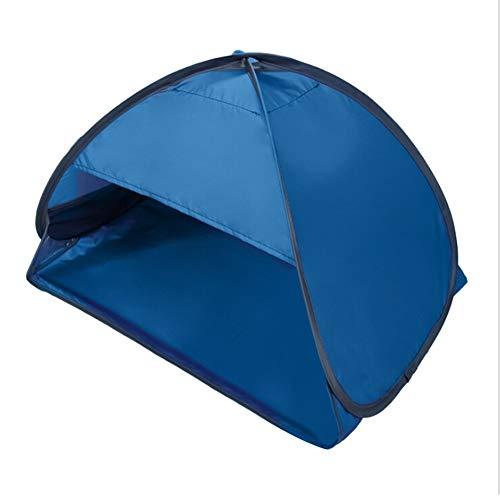 Reposacabezas tienda de campaña de protección UV Sunshelter automático abierto portátil al aire libre sombrilla tienda para adultos niños, con soporte para teléfono móvil