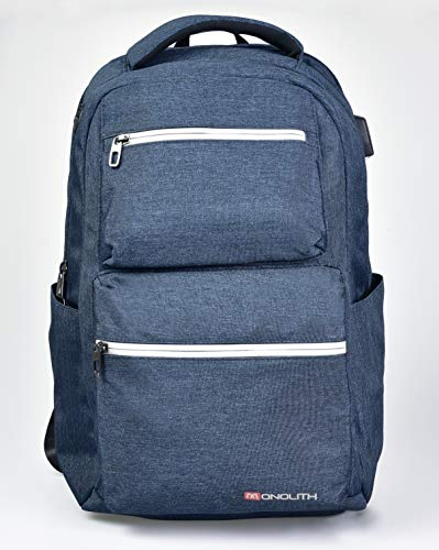 Monolith 200009113B Laptop Backpack 15.6 Inches Model 9113 30 x 19 x 45 cm Blue