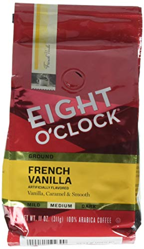 Eight O'Clock Coffee: Ground 11 oz. FRENCH VANILLA