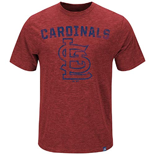 Majestic MLB T-Shirt St. Louis Cardinals Hours and Hours Baseball (XL)