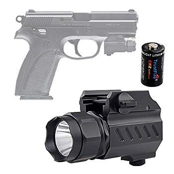 TrustFire G02 Lampe torche tactique LED 210 lumens Fixation rapide pour rails de style Picatinnyor Glock ? ?