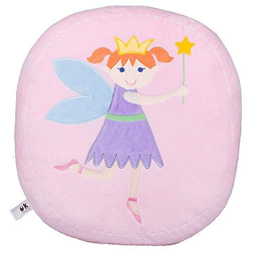 Wildkin Fairy Princess Peluche Oreiller, Super Soft Peluche Oreiller, Coordonne avec d'autres literie et Salle de décoration intérieure, Olive Design Enfants