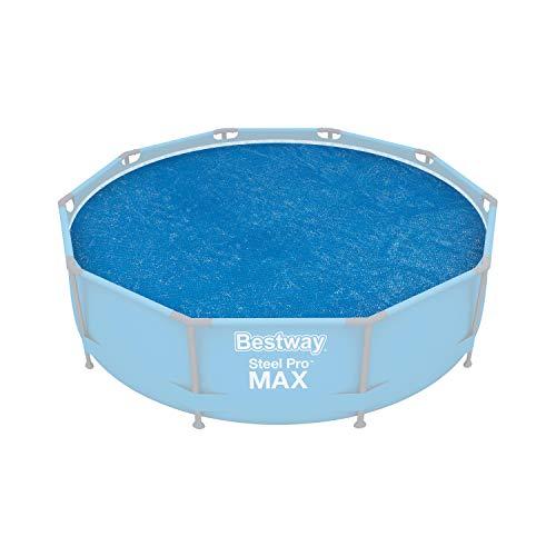 Bestway 58241 Bâche solaire diamètre 289 cm pour piscine hors sol ronde diamètre 305 cm