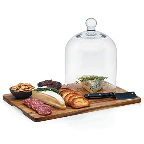 cheese board with dome - 3