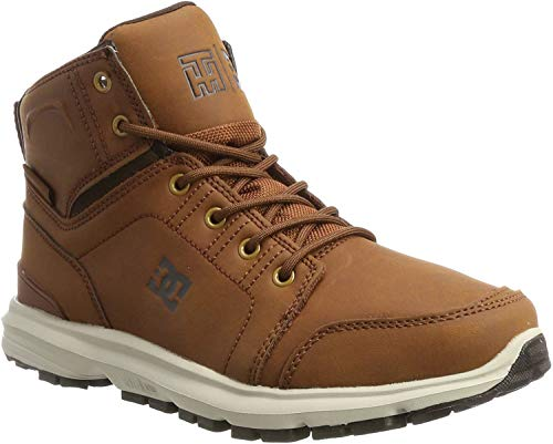 DC Shoes Torstein, Botas Clasicas para Hombre, Marrón (Brown/dk Chocolate), 42 EU
