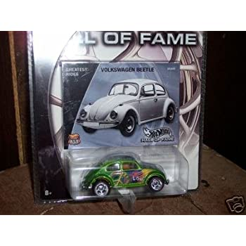 Mattel Hot Wheels 2002 Hall Of Fame Greatest Rides 1:64 Scale 35th Anniversary Green Volkswagen Beetle Die Cast Car