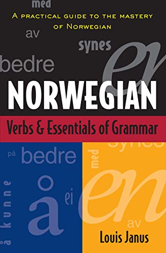 Compare Textbook Prices for Norwegian Verbs And Essentials of Grammar 1 Edition ISBN 9780844285962 by Janus, Louis