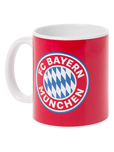 FC Bayern München Tasse - Mia san mia, großer Kaffee-Becher, FCB Design