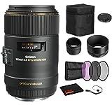 Sigma 105mm f/2.8 EX DG OS HSM Macro Lens for...