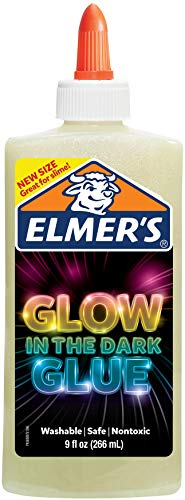 Elmer's Electrifying Glow-in-the-Dark Liquid Glue, Natural (2062231)