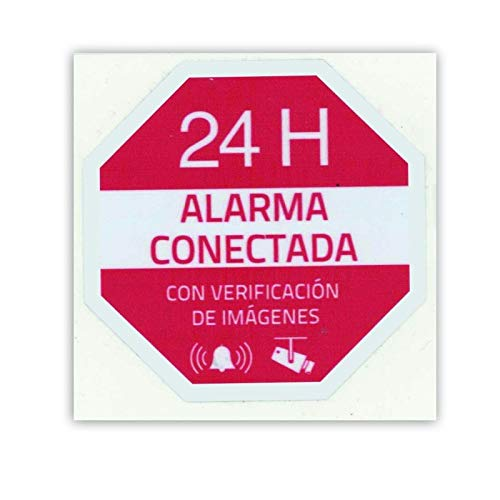 Cartel Alarma Conectada