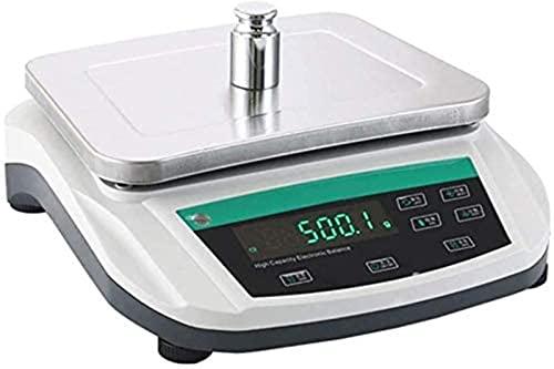QUERT Balanza electrónica de Laboratorio de 0,8 g, balanza analítica precisa, balanza analítica electrónica precisa, Laboratorio Digital