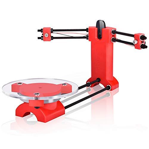 WOVELOT Escáner DIY 3D De Código Abierto Escáner Tridimensional Piezas De Plástico De Moldeo por Inyección Escritorio para Impresora Reprap 3D