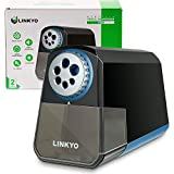 LINKYO Electric Pencil Sharpener Pro (Heavy Duty, Black)
