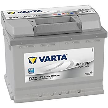 Varta Silver Dynamic D39 Autobatterie 12V 63Ah 610A (EN)  ETN 563 401 061