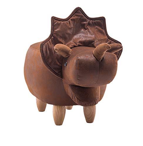 Nwn Cartoon Dinosaurier Mode Schuhe Bank Massivholz Hocker Schuhe Bank Sofa Hocker 102x37x35cm