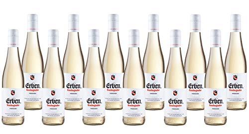 Erben Grauburgunder Trocken (12 x 0.25 l) – Weißwein Deutschland Qualitätswein Pfalz