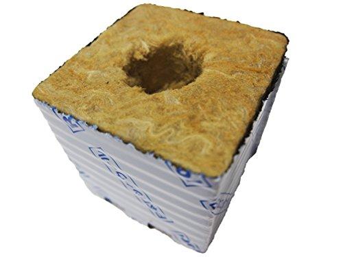 やさいはな栽培ポット(ロックウール製) (100H×100W×100L) 6個入