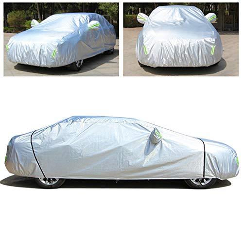 Gengcan Autoabdeckung für Volkswagen Tiguan Vollgarage Abdeckplane Wasserdicht Staubdicht Schneeschutz Sonnenschutz UV Schutz Autogarage Autohülle Stil A, 450x180x168 cm