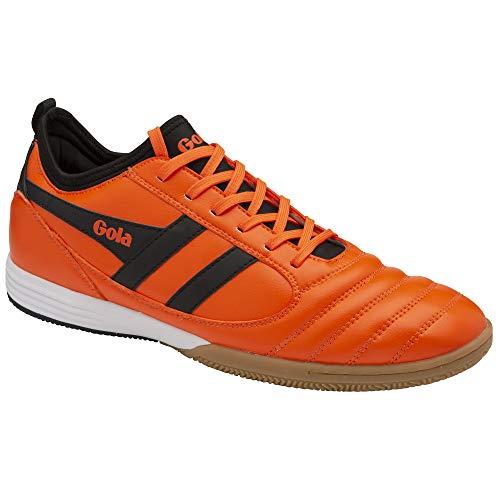 Gola Herren Ceptor TX Indoor Court Shoe, Orange/Black, 46 EU