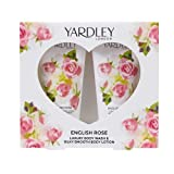 Yardley London English Rose Bath & Body Collection - Set de regalo para ella para el día de la madre, 50 ml