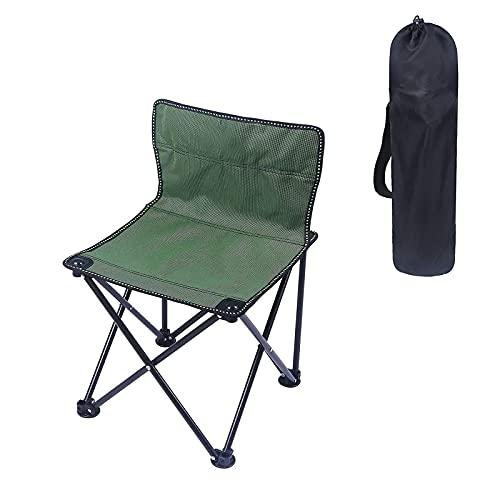 Campingstuhl Klapp Campingstuhl, Outdoor Ultralight Klappstühle mit Aufbewahrungstasche, Tragbarer Angelstuhl, Für Grascamping, Sandstrand, Balkon, Angeln