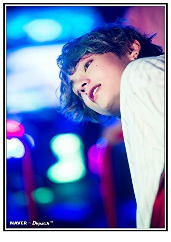 ATggqr 1000Jigsaw Puzzle For Adult50x75cmkpop Bangtan Boys, Jungkook, RM, v, Jimin, jin, Suga, j-Hope, Nueva Foto de 2020, Rompecabezas Colorido y Brillante