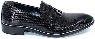 Tanboga 561 Erkek Klasik Bağcıksız Rugan Kundura Damatlık Ayakkabı