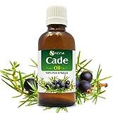Cade Essential Oil (Juniperus oxycedrus) Therapeutic Oil 100% Pure & Natural - Undiluted Uncut Aromatherapy Oil - 15 ML