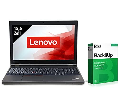 Lenovo ThinkPad L560-15,6 Zoll - Core i5-6300U @ 2,4 GHz - 8GB RAM - 250GB SSD - FHD (1920x1080) - Webcam - Win10Home (Zertifiziert und Generalüberholt)