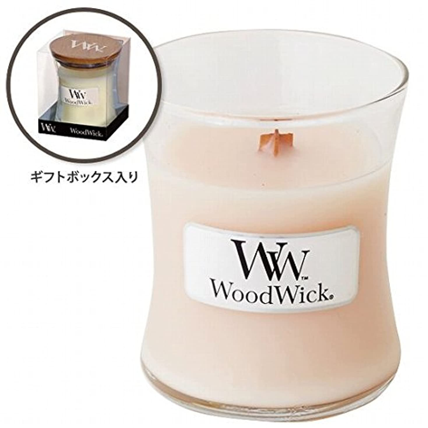 牛落ち着いた受け入れるウッドウィック( WoodWick ) Wood WickジャーS 「コースタルサンセット」