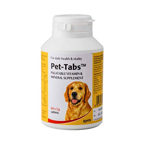 Pet Tabs Multivitamin and Minerals Tablets (Size: 60 Tablet Pot)
