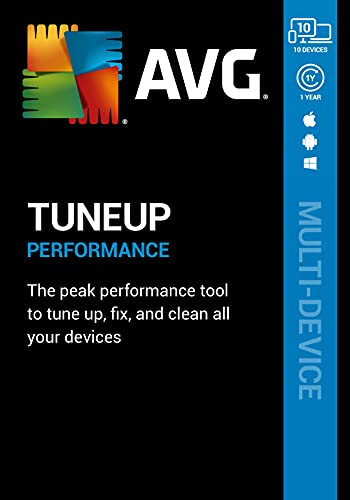 AVG TuneUp 2021   10 Devices, 1 ...