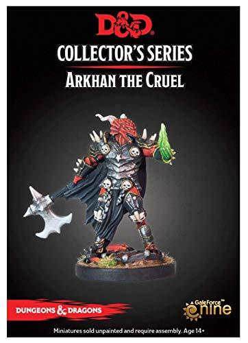 Gale Force Nine Arkhan The Cruel - Dragonborn (1 Fig) Collector's Series Miniature, Multicolor