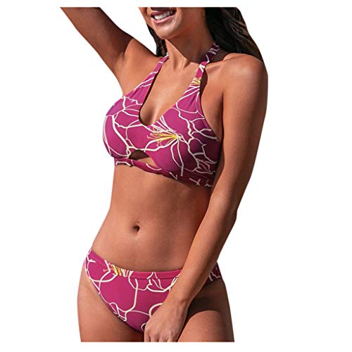 GOWE Womens Tankini Sets Plus Size Summer Beach Two Piece Strapless Bandage Swimsuit