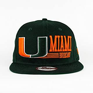 miami hurricanes new era snapback