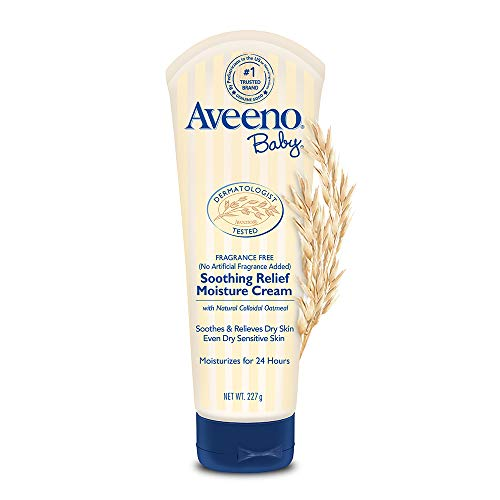 Aveeno Baby Soothing Relief Moisturizing Cream with Natural Oat...