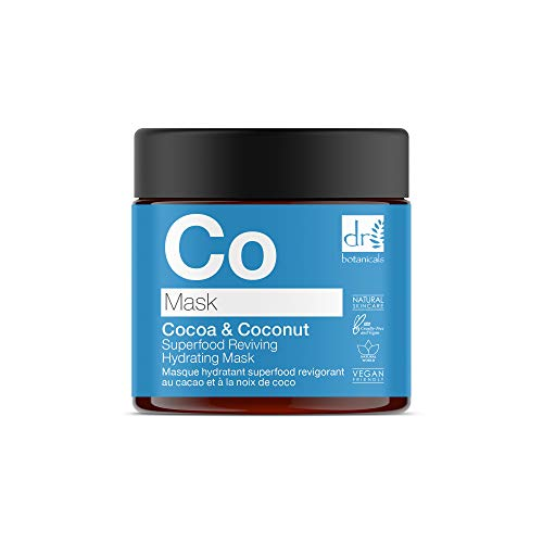 Apothecary Collection by Dr Botanicals Cocoa & Coconut Superfood Reviving Hydrating Mask 60ml