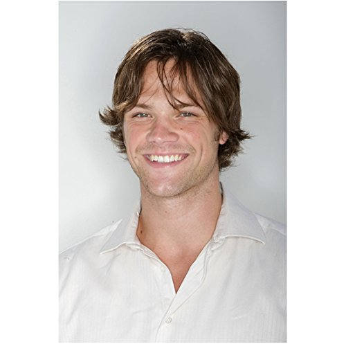 Supernatural Jared Padalecki as Sam Winchester Smiling with His Pearly Whites 8 x 10 Photo