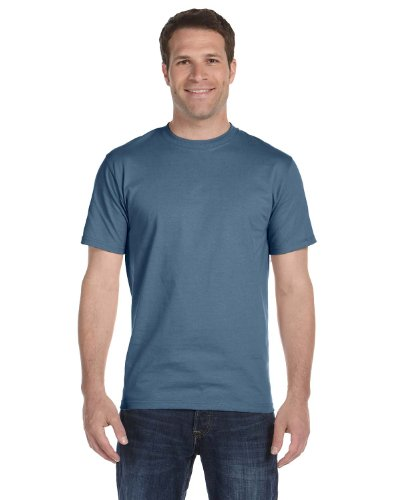 Hanes Short Sleeve Beefy T-Shirt - 5180 Denim