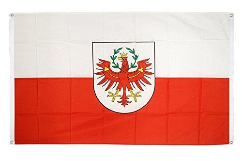 Flaggenfritze® Balkonflagge Österreich Tirol