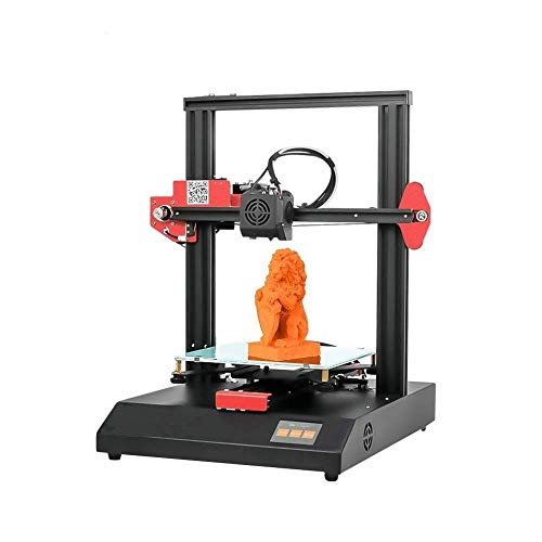 3D Printer FDM 220 x 220 x250mm (red)