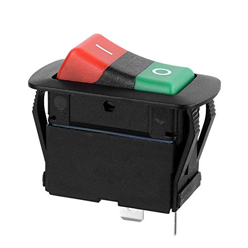 Kshzmoto Interruptor basculante para automóvil Interruptor de encendido/apagado 2P SPST DC14V 21A para automóvil