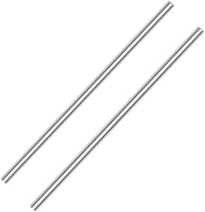 Z-fiber 2Pcs Aluminum Round Rods Bar Material Handle price Max 57% OFF Knife for
