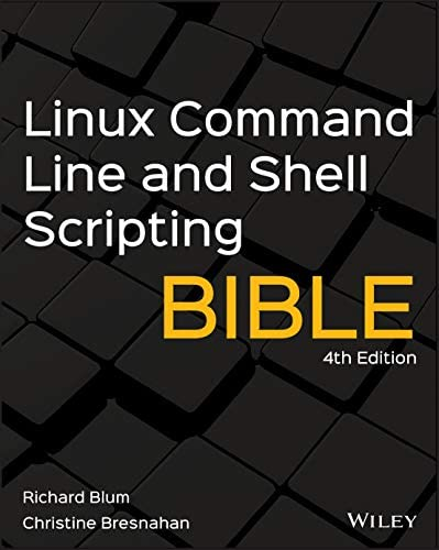 Linux Command Line and Shell Scripting Bible product image