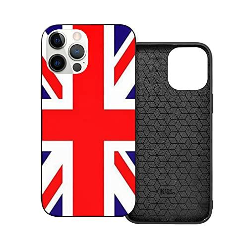 ZHJH - Custodia compatibile con iPhone 12/Pro/Mini/Pro Max con bandiera britannica, non facile da macchiare e facile da pulire per ragazzo e ragazza, stile moderno britannico